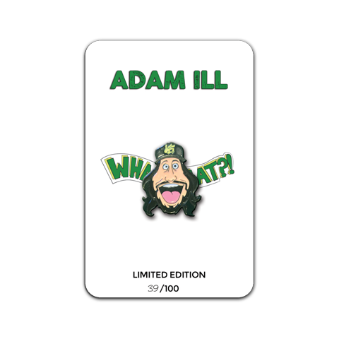 Adam ILL Face Hat Pin