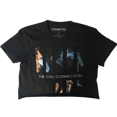 The Cali Connection - Boxes Crop Top