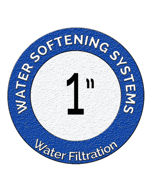 "1"" Water Softening Systems"
