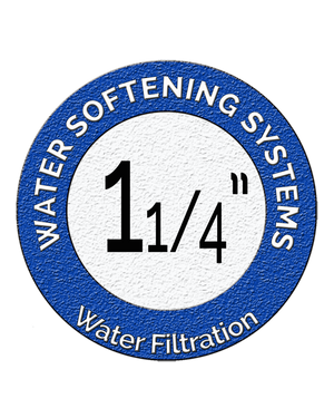 "1 1/4"" Water Softening Systems"