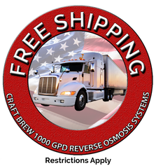 Free Shipping on 1000 GPD RO Systems