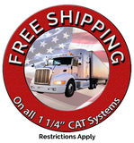 1 1/4 CAT Carbon Free Shipping