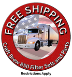 Free Shipping Craft Brew 850 Filters Sets