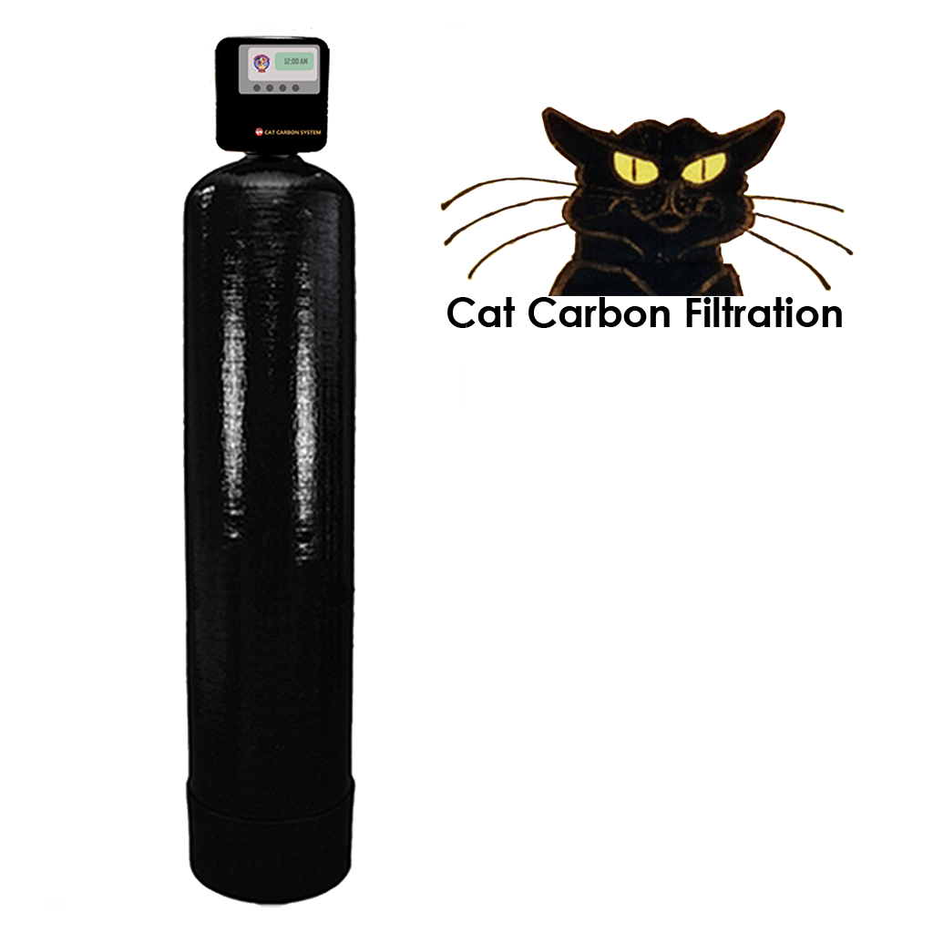 1' x 1 cubic foot Cat Carbon System
