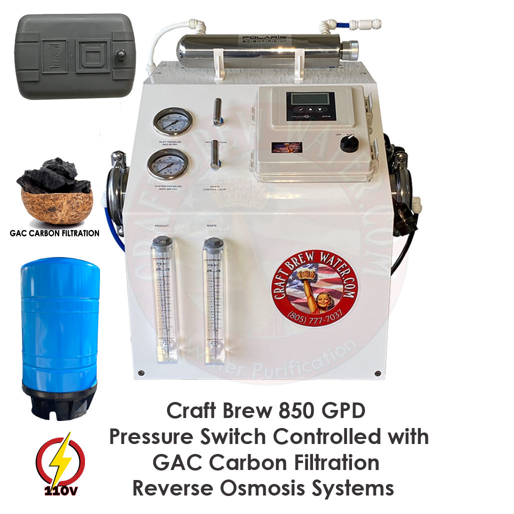 Craft Brew 850 PS GAC RO System