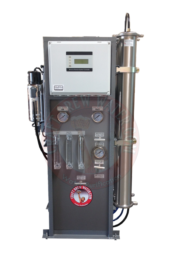 Craft Brew 5500 GPD Pro Reverse Osmosis System with Blending Valve and UV