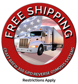 Free Shipping on 300 GPD RO Systems