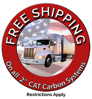 "FREE Shipping on 2"" Cat Carbon Systems"