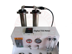 Craft Brew 1500 gpd Reverse Osmosis 110v  Float Switch Controlled with TDS Meter, UV  and Blending Valve.
