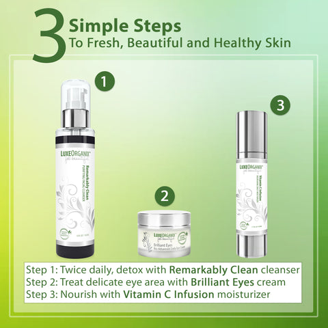 Vitamin C Infusion Nourishing Daily Face Moisturizer: Anti Aging Wrinkle Cream With Skin Tightening Vitamin C To Reduce Appearance of Dark Spots. (1.7 oz Pump)