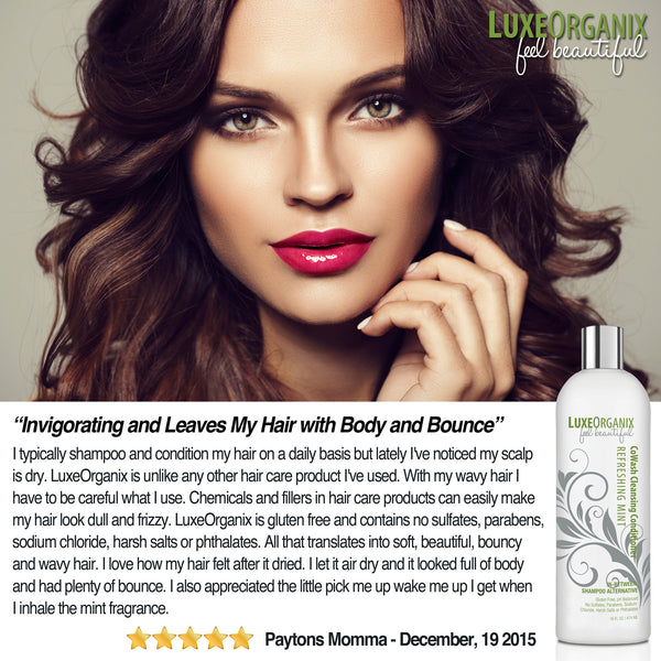 LuxeOrganix Cleansing Conditioner Cowash (16 oz)