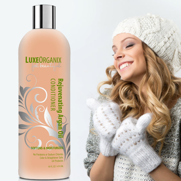 LuxeOrganix Moroccan Argan Oil Conditioner - 16oz