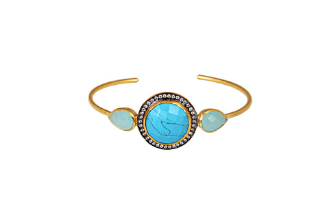 Venetia Bangle in Blue