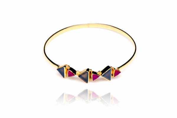 Fraternity Bangle in Pink