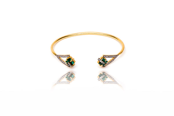 Trekker Bangle in Green