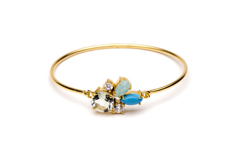 Carnival Bangle in Blue