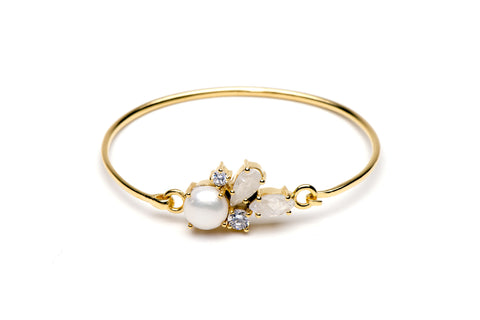 Carnival Bangle in White
