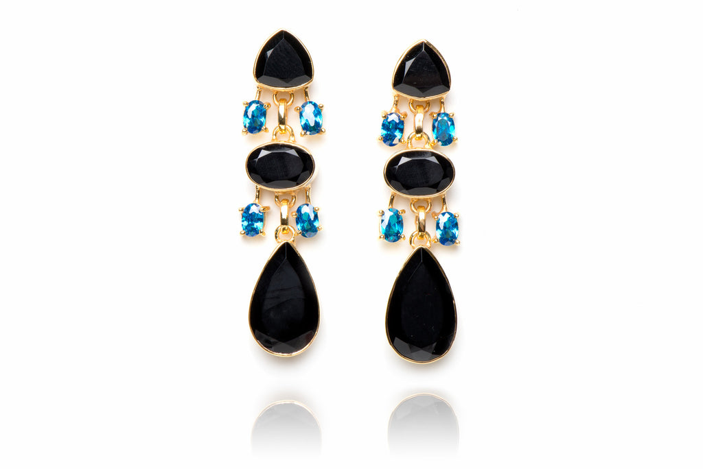 The Metropolitan Earring in Black