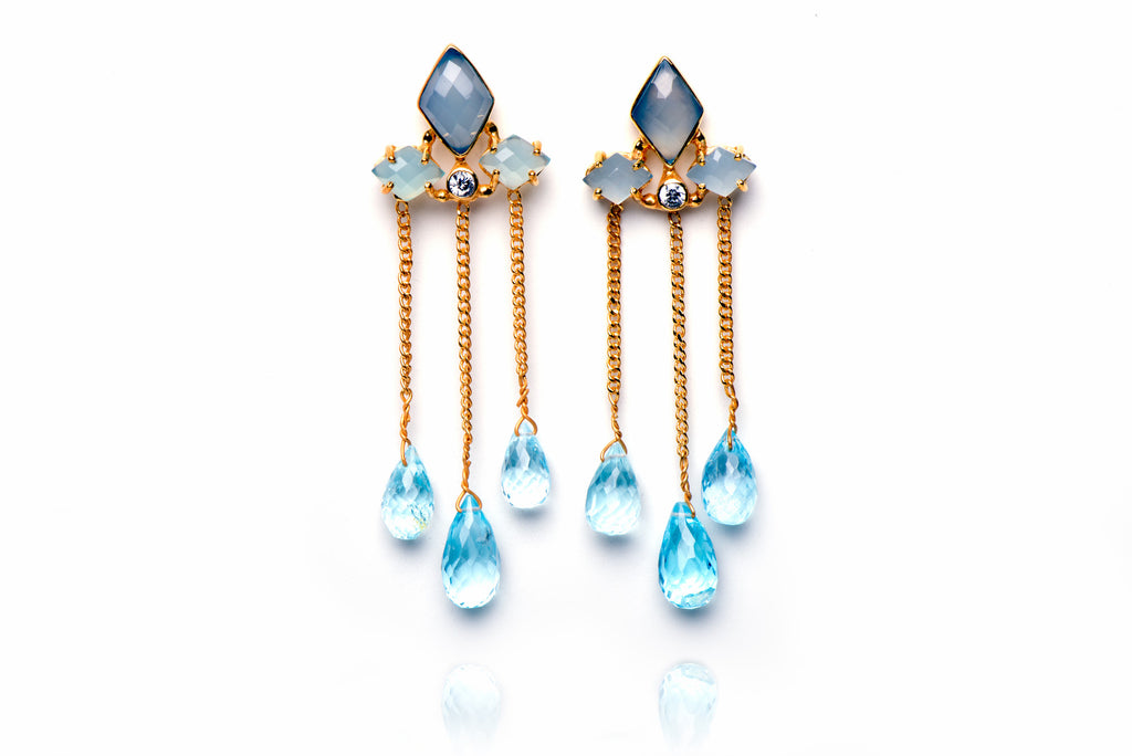 Uptown Drop Earrings