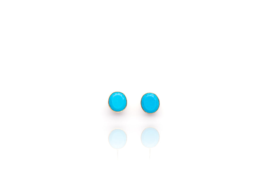 Atlantis Earrings in Turquoise