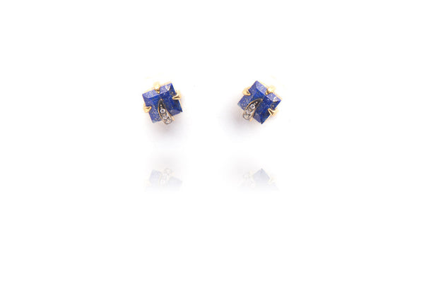Gypsy Studs in Blue