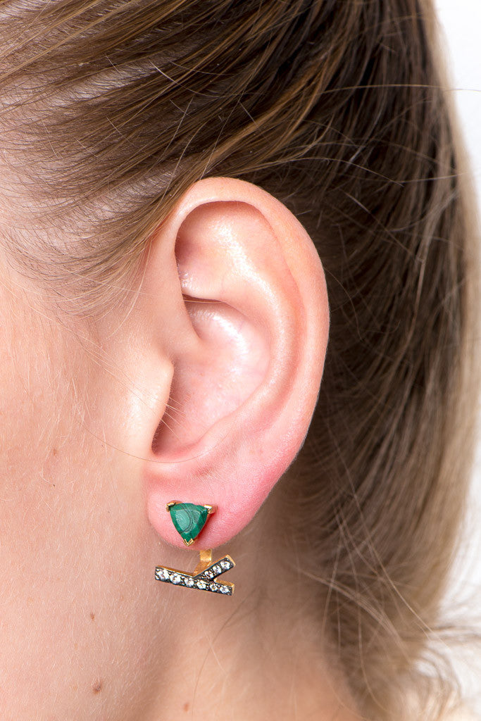 Drifter Ear Jacket in Green
