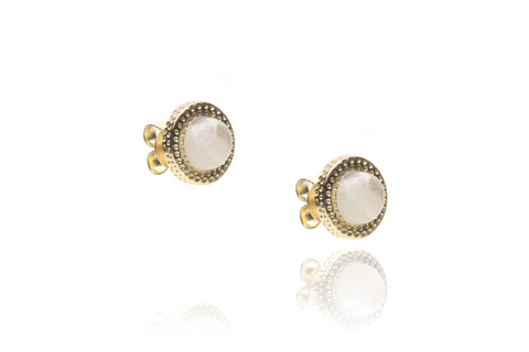 Affair Earrings in Moonstone