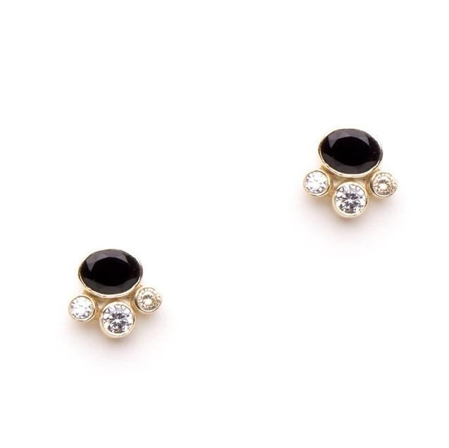 Grace earrings in Black