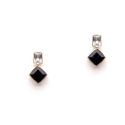 Olivia earrings in black