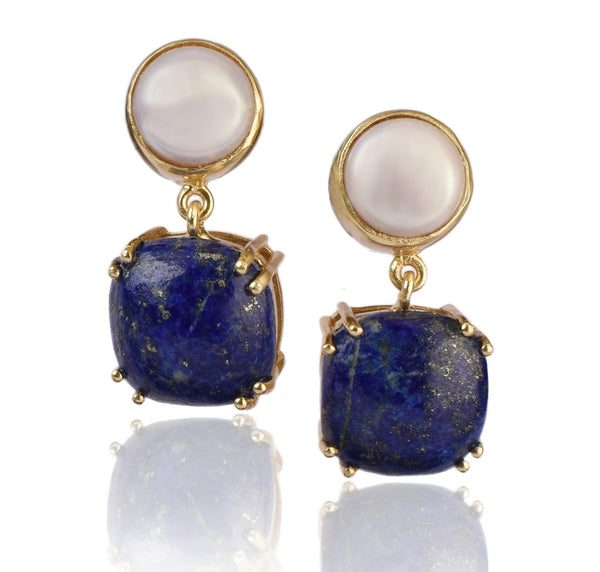 Twilight Earrings in Blue