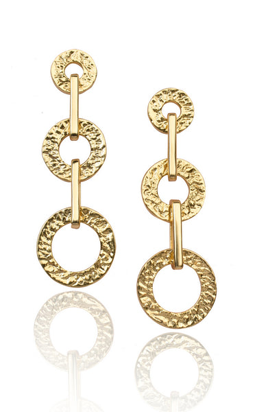 Juno Earrings in Gold