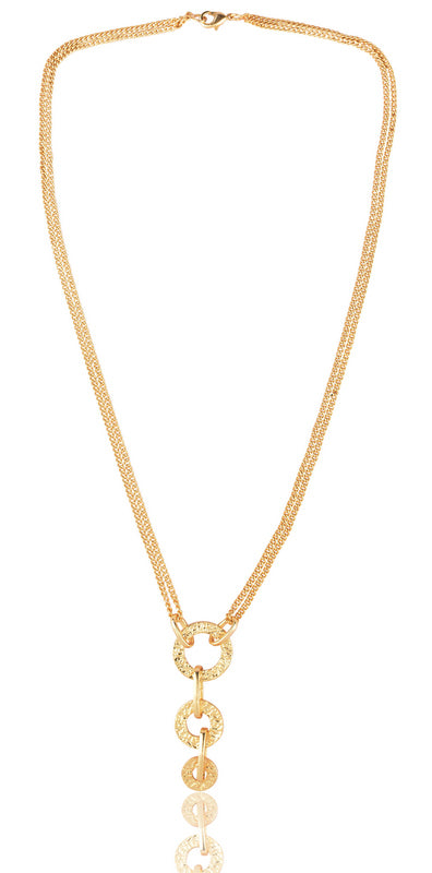Juno Necklace in Gold