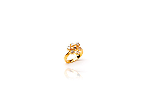 ring amazing rings heart ct mother this diamond child gold round