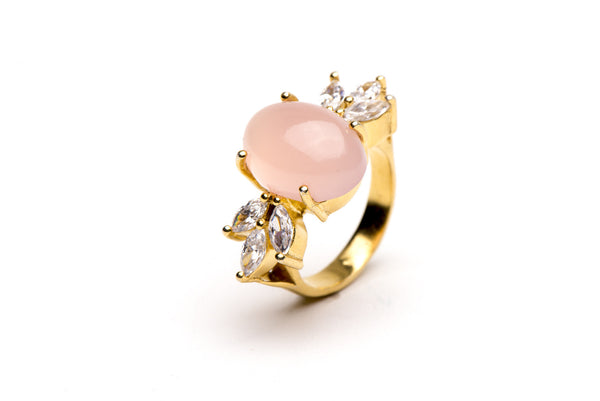 Revelry Ring in Pink