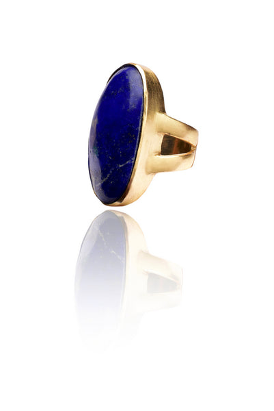 Pebble Ring in Blue