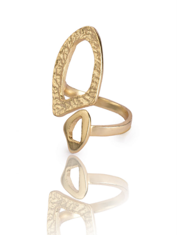 Lattice Ring in Gold