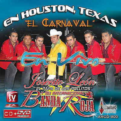Banda Roja (En Houston Texas CD/DVD) AR-800