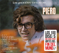 Piero (CD Los Grandes Exitos de:) Sony-887654278524