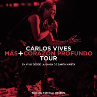 Carlos Vives (CD+DVD Mas+Corazon Profundo Tour