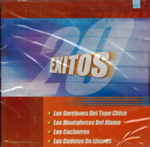 20 Exitos Nortenos (CD Varios Artistas) Sony-84079