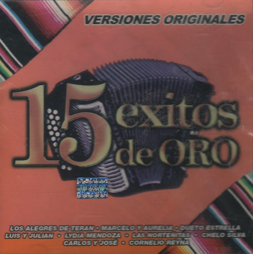 15 Exitos de Oro Vol. 2 (CD Varios Artistas Originales) EMI-094634453820