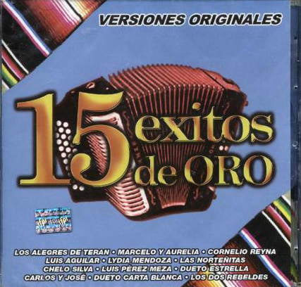 15 Exitos de Oro Vol. 5 (CD Varios Atistas) EMI-094634453226