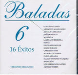 Baladas 6 (CD 16 Exitos Versiones Originales) IM-5308