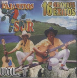 Los Pajaritos Del Sur (16 Grandes Exitos Volumen 1) Cd0-112