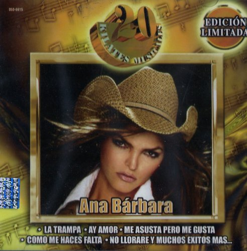 Ana Barbara (CD 20 Kilates Musicales) UNIV-61549