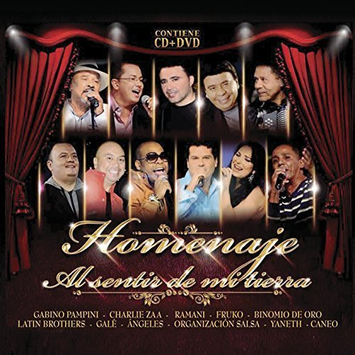 Homenaje Al Sentir De Mi Tierra (Various Artists, CD+DVD) 888751935020
