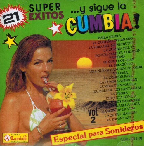 21 Super Exitos (Y Sigue La Cumbia) Cdl-101
