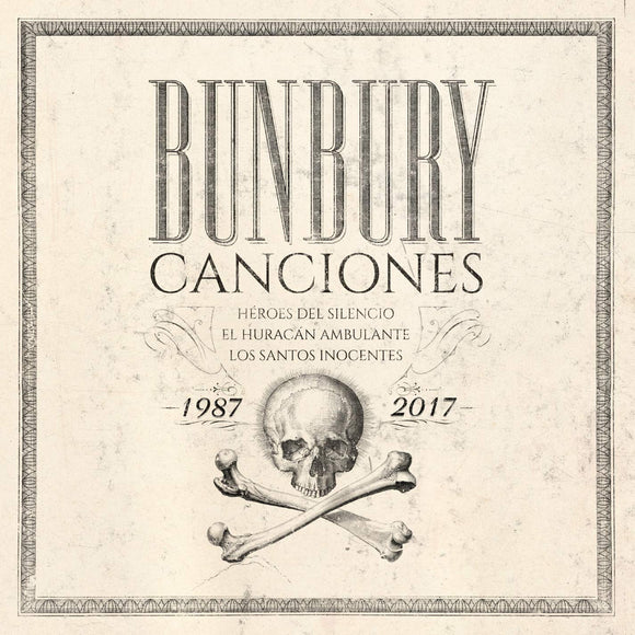 Enrique Bunbury (3CD Canciones 1987-2017) WEA-79005