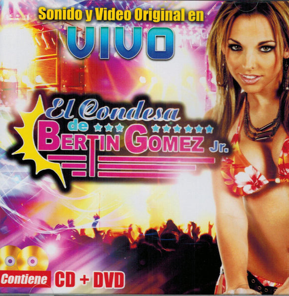 Bertin Gomez Jr (Sonido Y Video Original En Vivo CD-DVD) ARC-3305 USADO