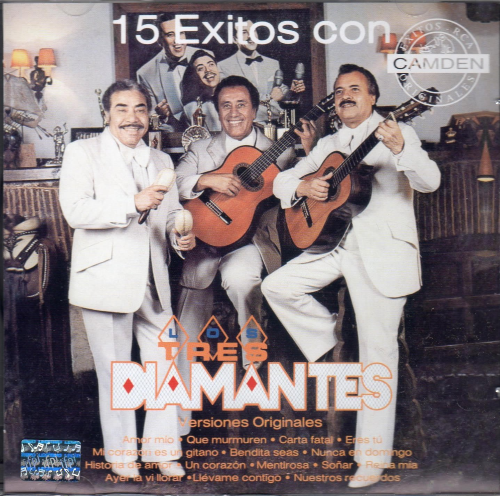 Los Tres Diamantes (15 Exitos con: Versiones Originales) 828766431926
